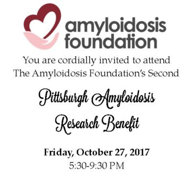 The 2nd Annual Pittsburgh Amyloidosis Research Benefit