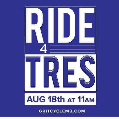 #Ride4Tres Event Smashes Fundraising Goal!