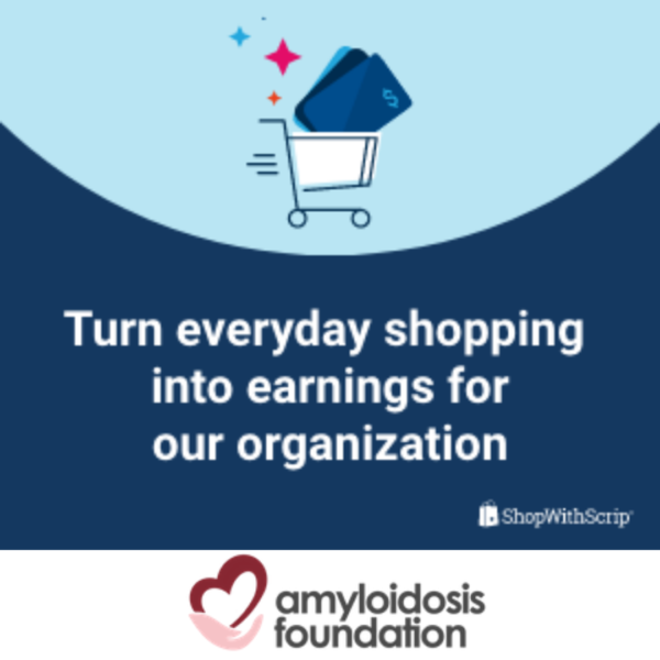 NEW<br>Shop with Gift Cards<br>For Amyloidosis